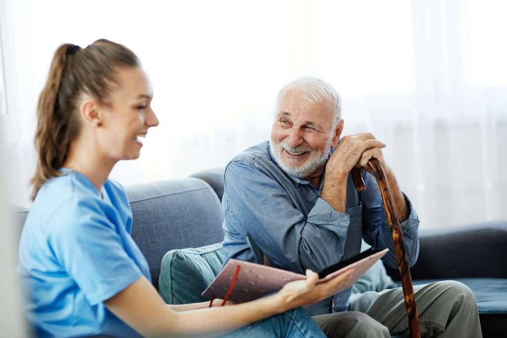 A daily routine benefits seniors and reduces stress and insecurity.