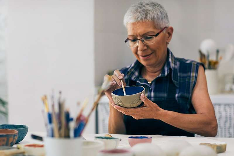 Visiting Care Giving Services is here to help seniors find ways to remain active and engaged in creative activities.
